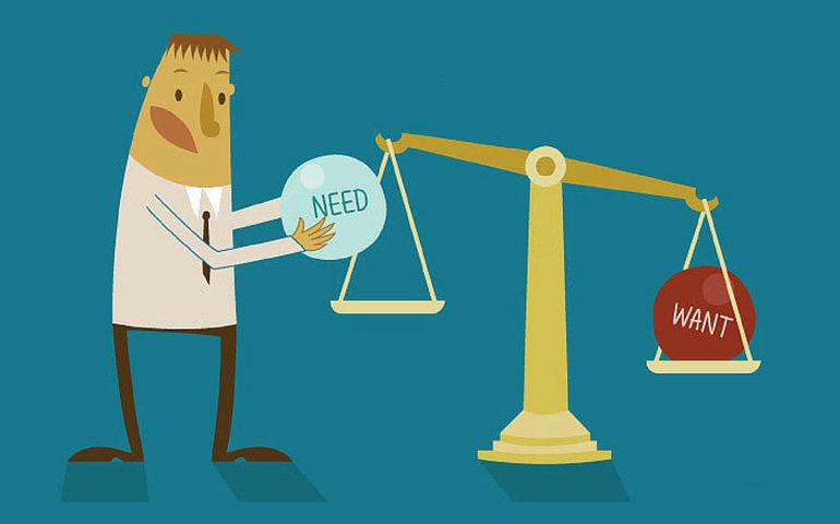 اصول بازاریابی- نیاز و خواسته مشتری