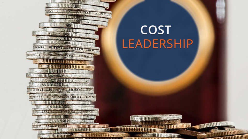 رهبری هزینه به این معنی است که شرکتها بتوانند یک محصول قابل قبول را در کمترین قیمت ممکن تولید کنند.