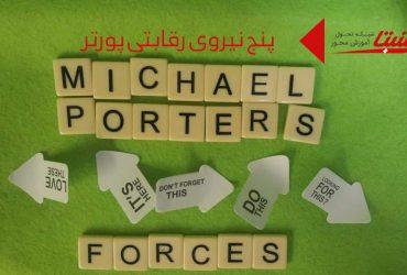 پنج نیروی رقابتی پورتر چیست؟